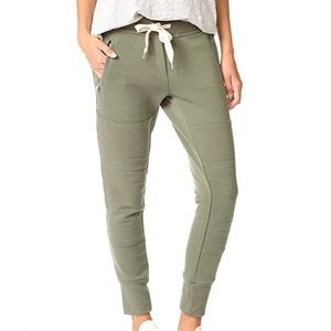 Sincerely Jules Lux Joggers Olive NEW